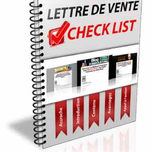 Lettre de vente check list