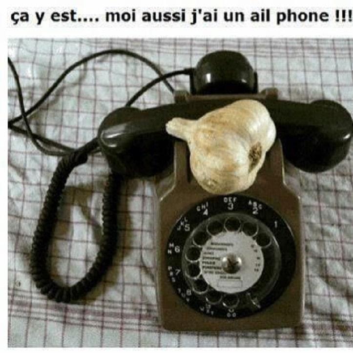 Çà y est... moi aussi j'ai un ail phone !!!