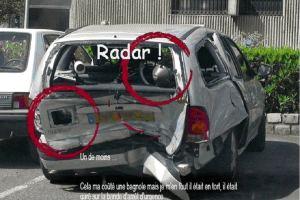 Radar ! Un de moins...
