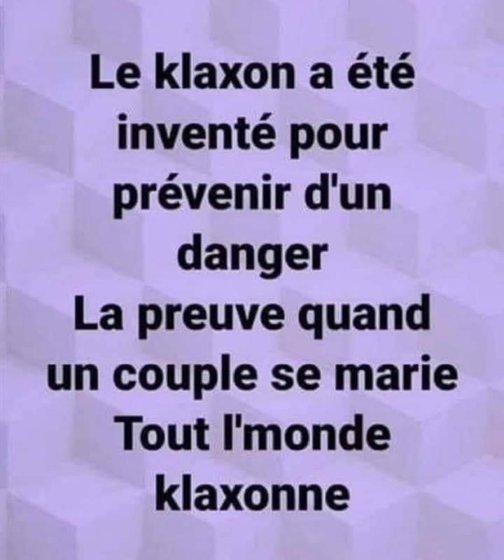 Le klaxon a été inventé pour prévenir d'un danger