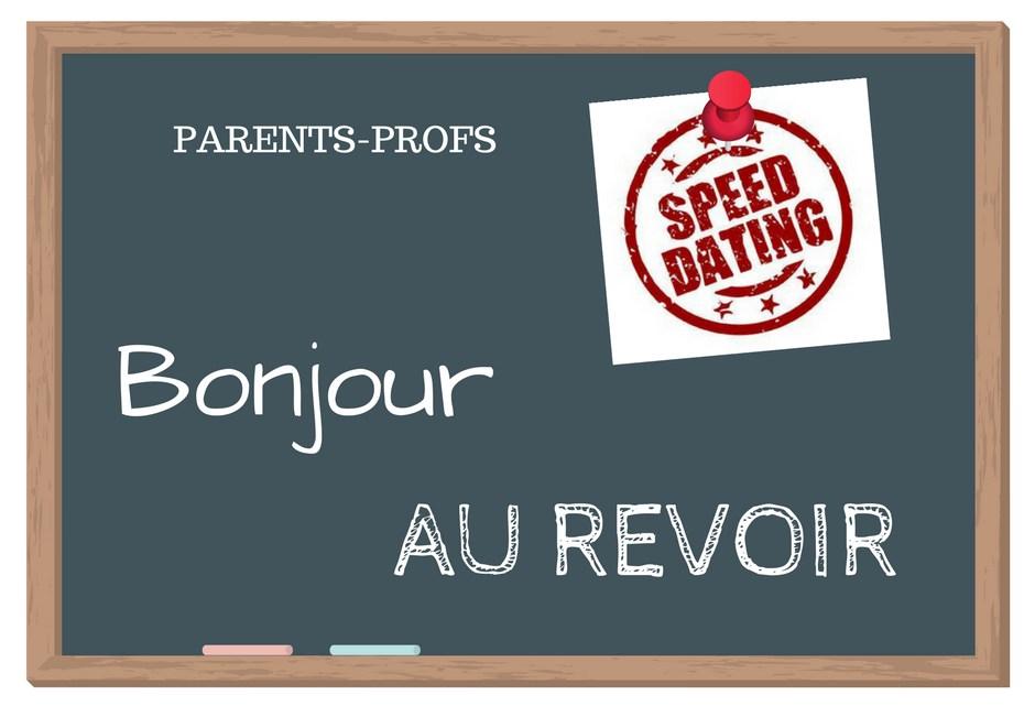 Speed-dating parents-professeurs