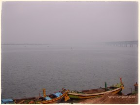 The River Godavari at Rajahmundry