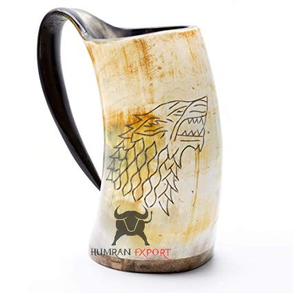 game of throne horn mug