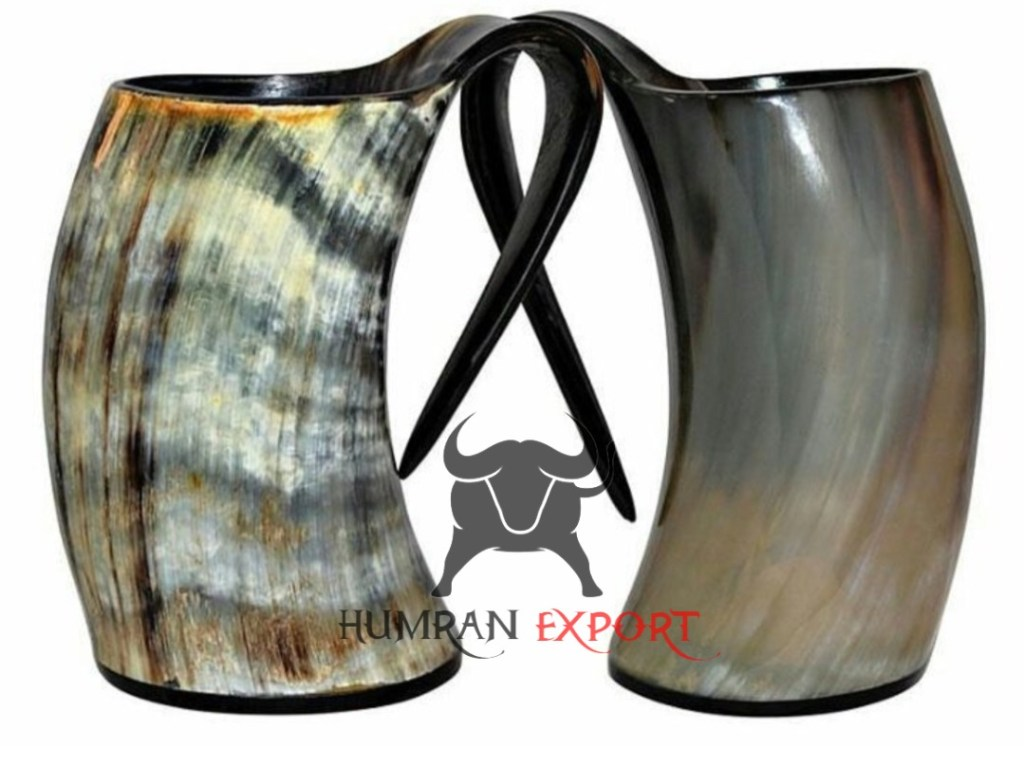 horn mug set