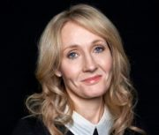 "This Oct. 16, 2012 photo shows author J.K. Rowling at an appearance to promote her latest book ""The Casual Vacancy,"" at The David H. Koch Theater in New York. Rowling, the popular author of the ""Harry Potter"" series, spoke for just over an hour before a capacity crowd in her sole U.S. public appearance to promote her first novel for grownups. (Photo by Dan Hallman/Invision/AP)"