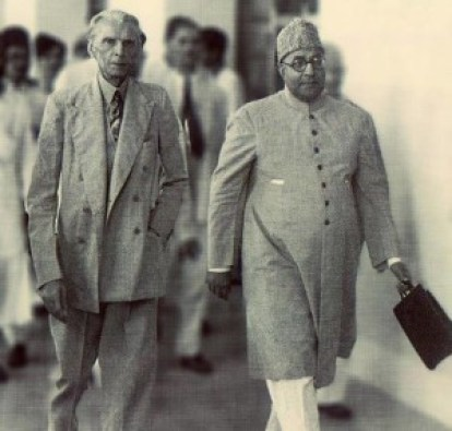 liaqat ali khan with jinnah