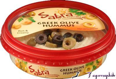 Sabra Greek Olive Hummus