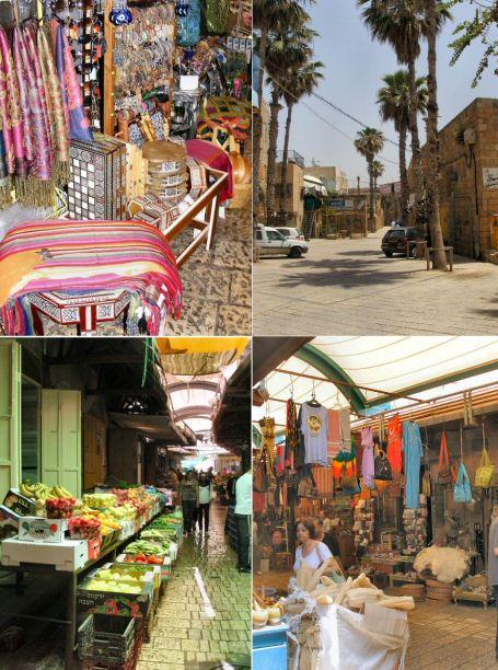 בדרך לסעיד: השוק של העיר העתיקה.
