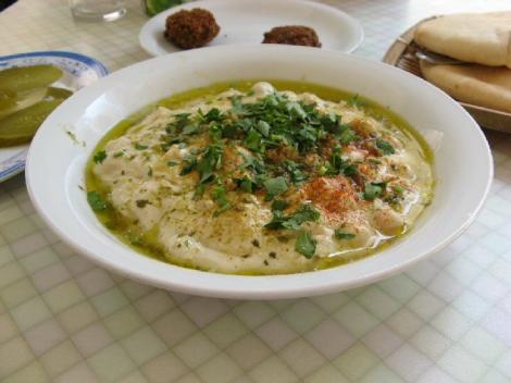 חומוס אכרם, המנה