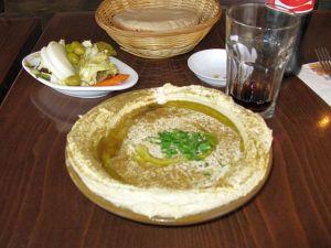 חומוס כנאפה תל אביב