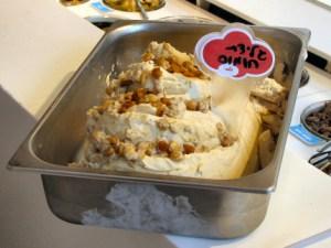 גלידת חומוס, לג'נדה