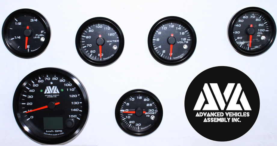 HUMVEE® GAUGE PACKAGE