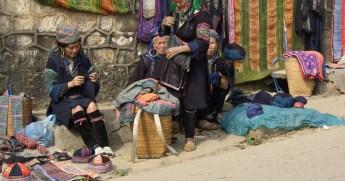 サパの少数民族