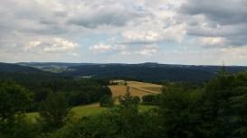 Aussicht von der Knockhütte