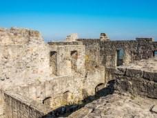 Über den Dächern der Burgruine Bramberg