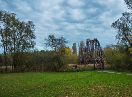Brücke zur Kanyavári-Halbinsel