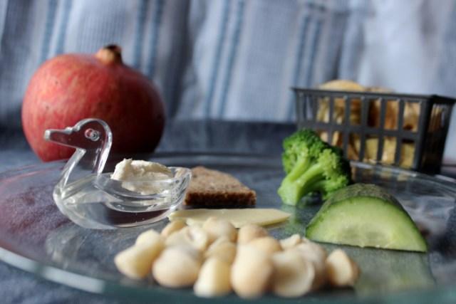 Zutaten für ein Frühstücksbild