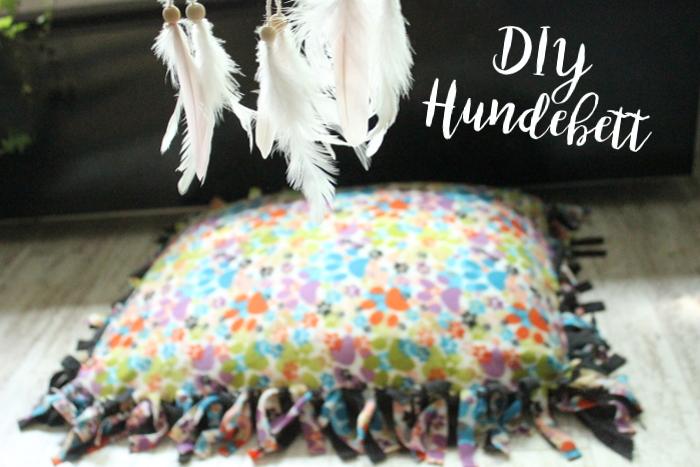 DIY Hundebett - ein Kuschelnest ganz ohne nähen