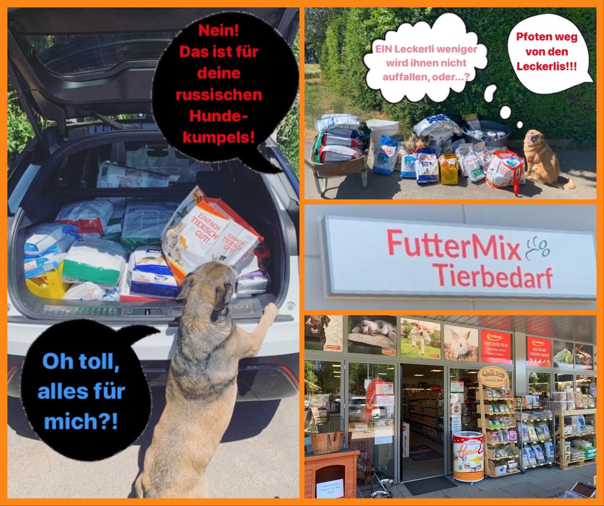 Dankeschön an Futtermix Tierbedarf