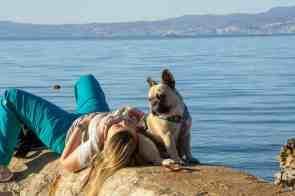 Urlaub Hund Krk Kroatien