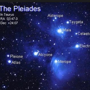Stjärnbilden Plejaderna