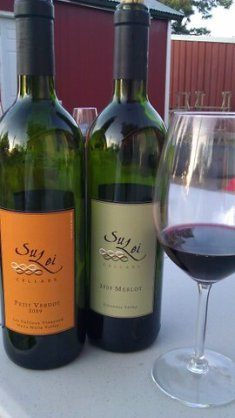 Sustainable wine in the Pacific Northwest from SuLei Cellars