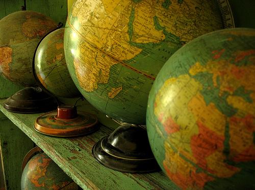 """Globe Collection"" by girlhula @ Flickr"