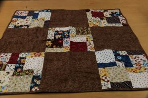 quilt brown