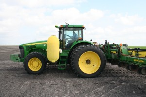 planting cotton in Texas