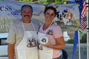 Barbara Borges-Martin DairyGoddess Hanford farmers Market