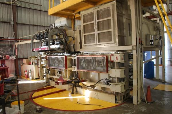 cotton bale press