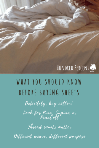 What you should know about cotton before buying sheets