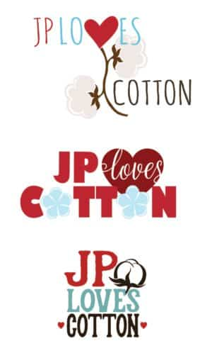 logo study JPlovesCOTTON