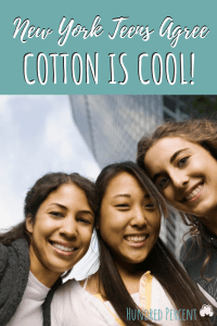 NYC teens agree cotton is cool