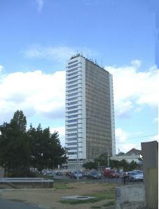Semmelweis University tower