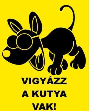 Beware the dog is blind / szerintem ...s photos