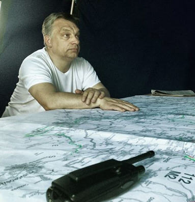 Orban and map