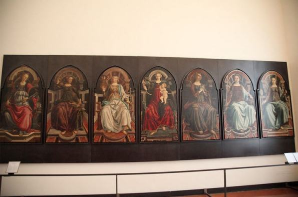 Michelangelo's Seven Virtues, Uffizi Gallery