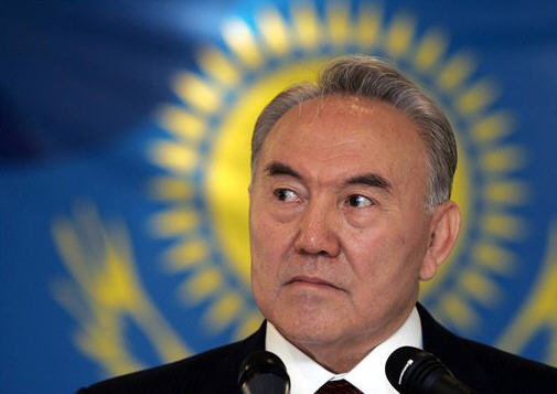 Nursultan Nazarbayev, dictator of Kazakhstan