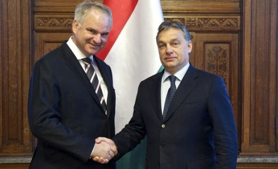 Prime Minister Viktor Orbán and Chairman-CEO of E.ON