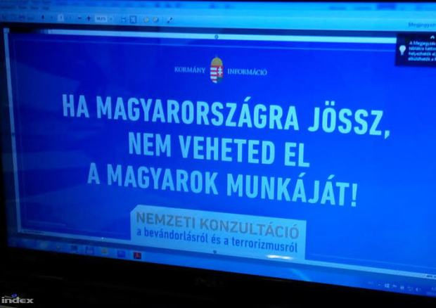 """If you come to Hungary you cannot take the jobs of Hungarians!"""