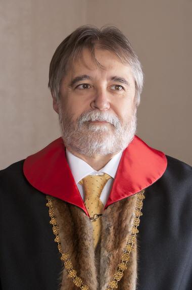 Dr. Barna Mezey, Rector Magnificus of ELTE