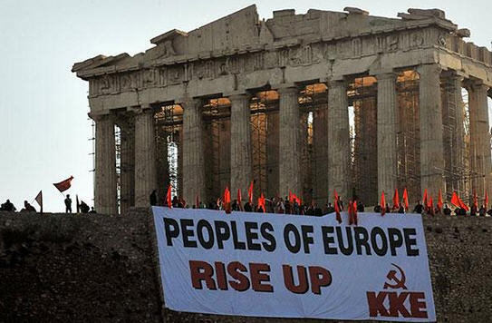 The red flags at the Acropolis made a negative impression in Hungary