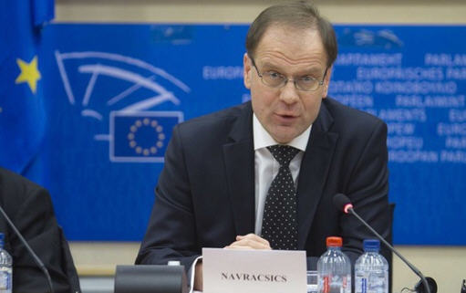 Tibor Navracsics, sweating it in Brussels at his hearing