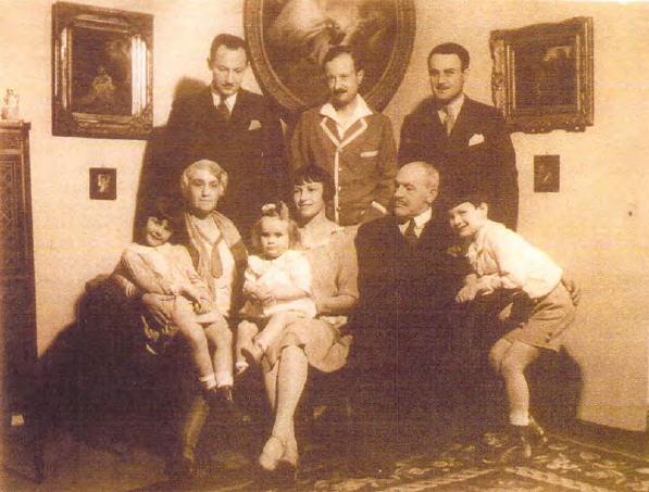 The Herzog family in 1931-1932