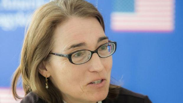 Undersecretary Sarah Sewall / Magyar Nemzet / Photo: Attila Béres