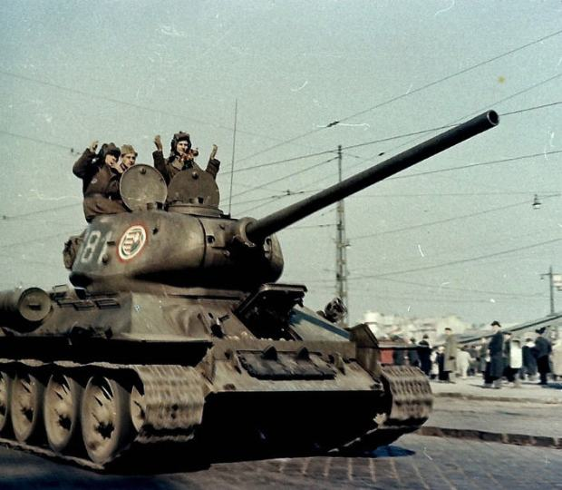 Of of those Soviet tanks Kövér was talking about