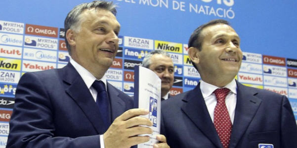 Viktor Orbán and Tamás Gyárfás