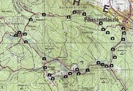 Pilisszentlaszlo - Map