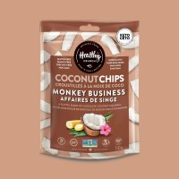 Healthy Crunch Monkey Business Coconut Chips - 100g